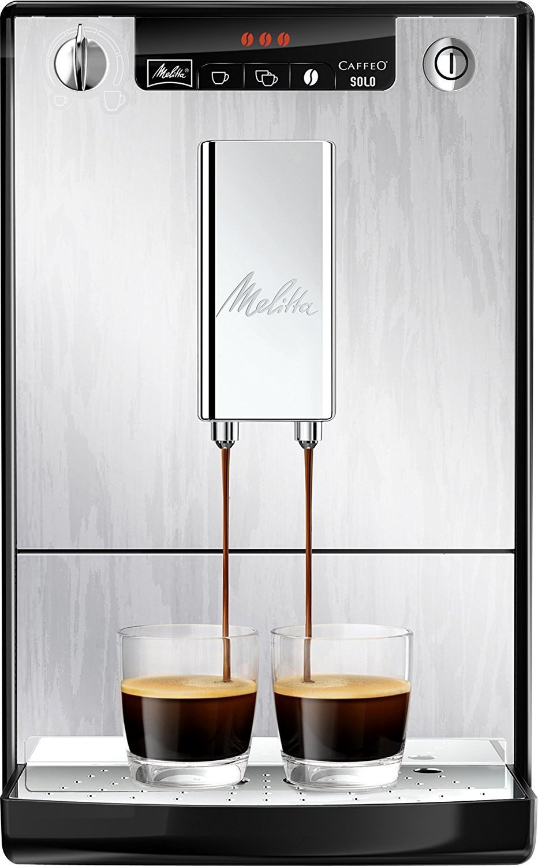 Melitta-Caffeo-Solo-E950-111-Schlanker-Kaffeevollautomat-mit-Vorbrhfunktion-Silver-Filterpatrone-fr-Kaffeevollautomaten-Reinigungstabs-Kaffeevollautomaten-Perfect-Clean-Espresso-4-Tabs