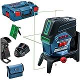Bosch Professional Sistema 12V Nivel Láser GCL 2-50 CG (1 batería 12V + cargador, láser verde, c/función aplicación, soporte,