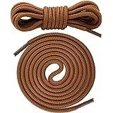 Canwn Lacci Scarpe Rotondi, [3 Paia] Stringhe Scarpe Robuste e Resistenti Lacci per Scarpe da Montagna,Stivali,Scarpe da Lavo