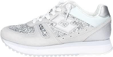 Lotto Scarpe Donna Sneakers Basse S8911 Tokyo Wedge W Taglia 36 Grigio-Argento