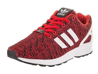 detailed look 2a5dc 1b78e Adidas Men s ZX Flux Originals Red Ftwwht Cblack Running Shoe 8 Men US