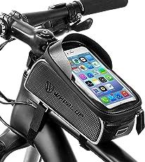 Baonuor Fahrrad Satteltasche Wasserdicht Flaschenhalter Fahrrad Wasserflaschenhalter Bike Water Bottle Holder