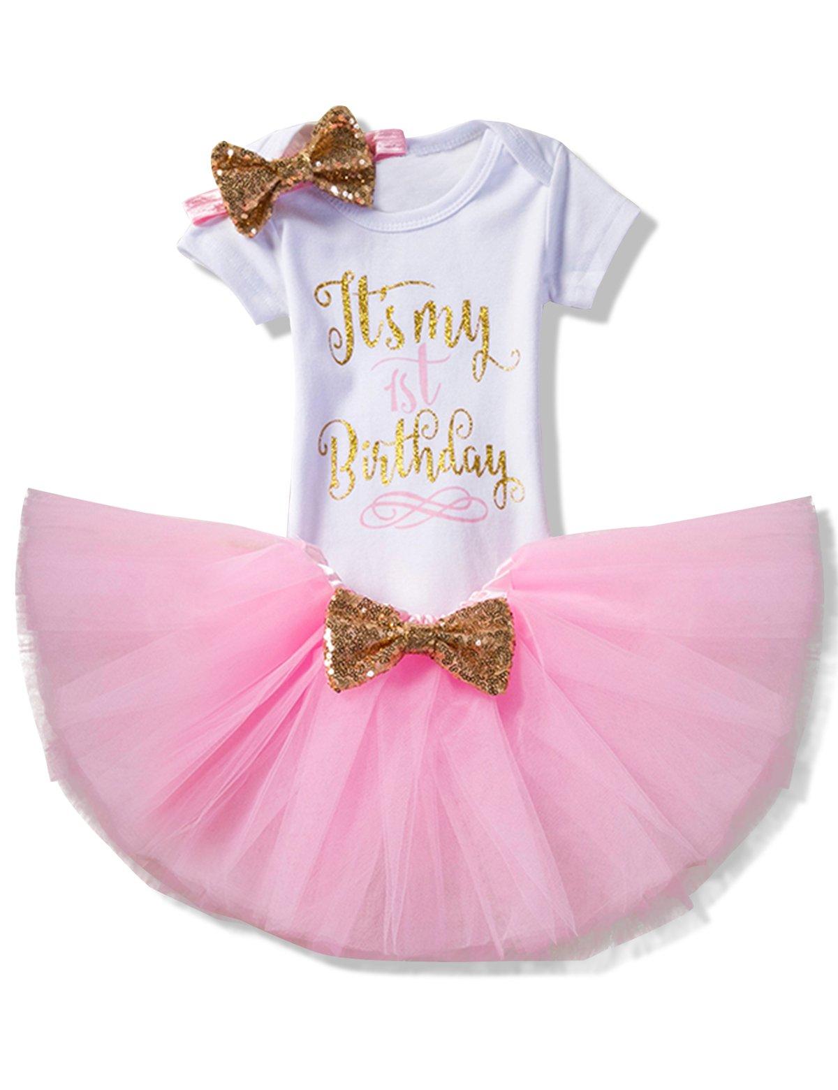 NNJXD-Girl-Newborn-Its-My-1st-Birthday-3-Pcs4-pcs-Outfits-RomperSkirtHeadbandLeggings
