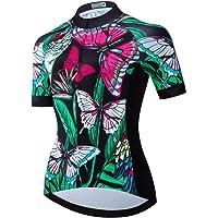 Maglia da ciclismo da donna per MTB, maglie da ciclismo traspiranti ad asciugatura rapida per l'estate