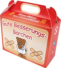 Krsnasworld süße Bärchen - 75gr. Gummibärchen im Papierköfferchen (Gute Besserung-Bärchen)