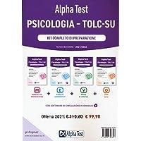 Alpha Test. Psicologia. TOLC-SU. Kit di completo di preparazione