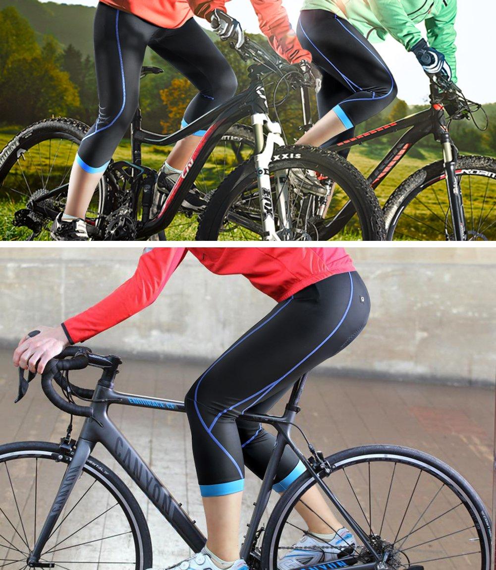Radlerhose Atmungsaktiv Radfahren  Quick Dry Fahrradhose Lang Pro Radhose