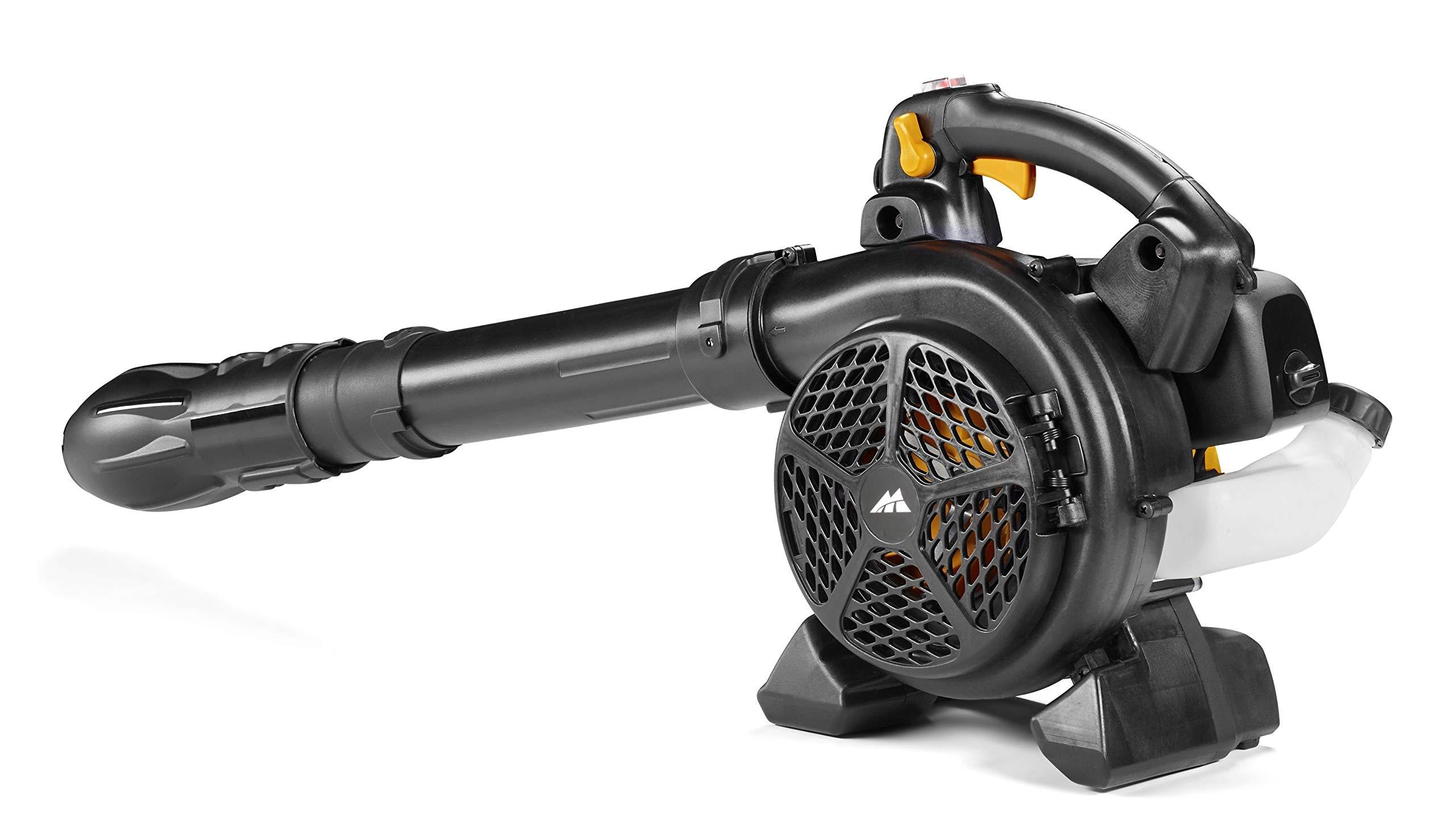McCulloch GBV 322 VX Petrol Leaf Blower/Garden Vacuum: 800 W Engine, 45 Litre Vac Bag Capacity, 370 km/h, Full Anti…