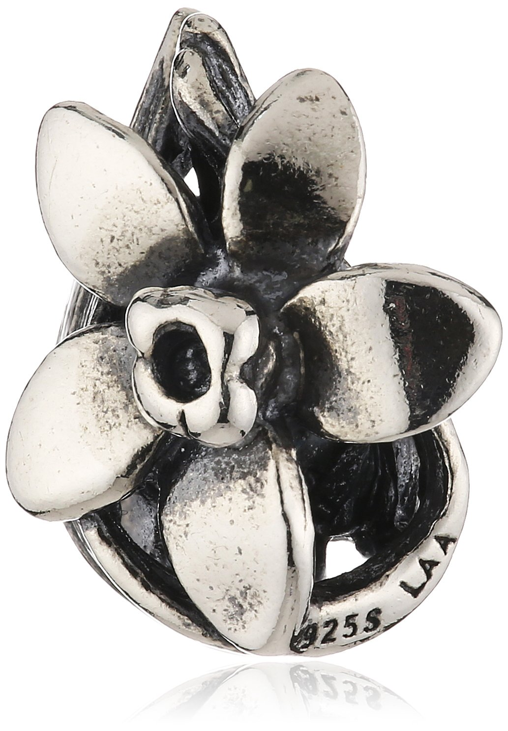 Trollbeads Silver 925 Bead Narcissus of December
