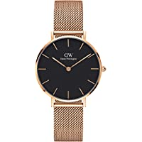 Daniel Wellington Petite Melrose, orologio da donna, 32 mm, in mesh