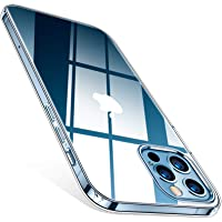 """TORRAS Coque Compatible avec iPhone 12/iPhone 12 Pro 6.1"""" (Transparente et Résiste Jaunit) Fine Parfaite Aligné Accès…"""