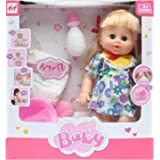 H&H Drink & Wet Potty Training Doll For Girls, Multi Color