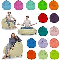 HomeIdeal - Sitzsack 2-in-1 Funktionen Bodenkissen für Erwachsene & Kinder - Gaming oder Entspannen - Indoor & Outdoor…