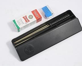 Putzset Kaliber 4,5 mm mit Waffenöl und Schnellreinigungspfopfen