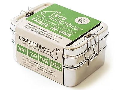 ECOlunchbox Brotdose Three in One