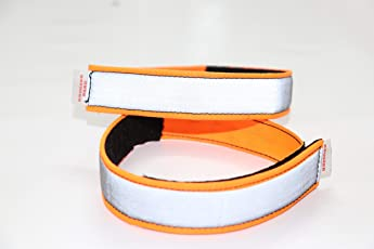 Kroozer band Unisex High Reflective Bands for Night Cyclists Runners Joggers Motorcyclists