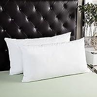 JDX Premium Hotel Quality Fibre Pillow Set of 2-44x61