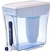 ZeroWater Distributeur de 20 tasses de qualité d'eau, sans BPA, certifié NSF pour réduire le plomb et autres métaux…