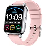 """Smartwatch, Damen Herren Fitnessuhr 1.69"""" Touchscreen Smart Watch Fitness Tracker Schrittzähler Pulsuhr, Armbanduhr Sportuhr"""