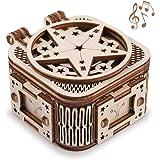 GuDoQi Puzzle 3D Legno, Modellini Carillon Mini con 18 Toni da Costruire, Costruzioni Legno, Kit Fai da Te Creativo per Model