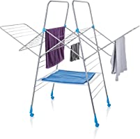 Minky Multidry Clothes Airer - 25m of Drying Space, Silver