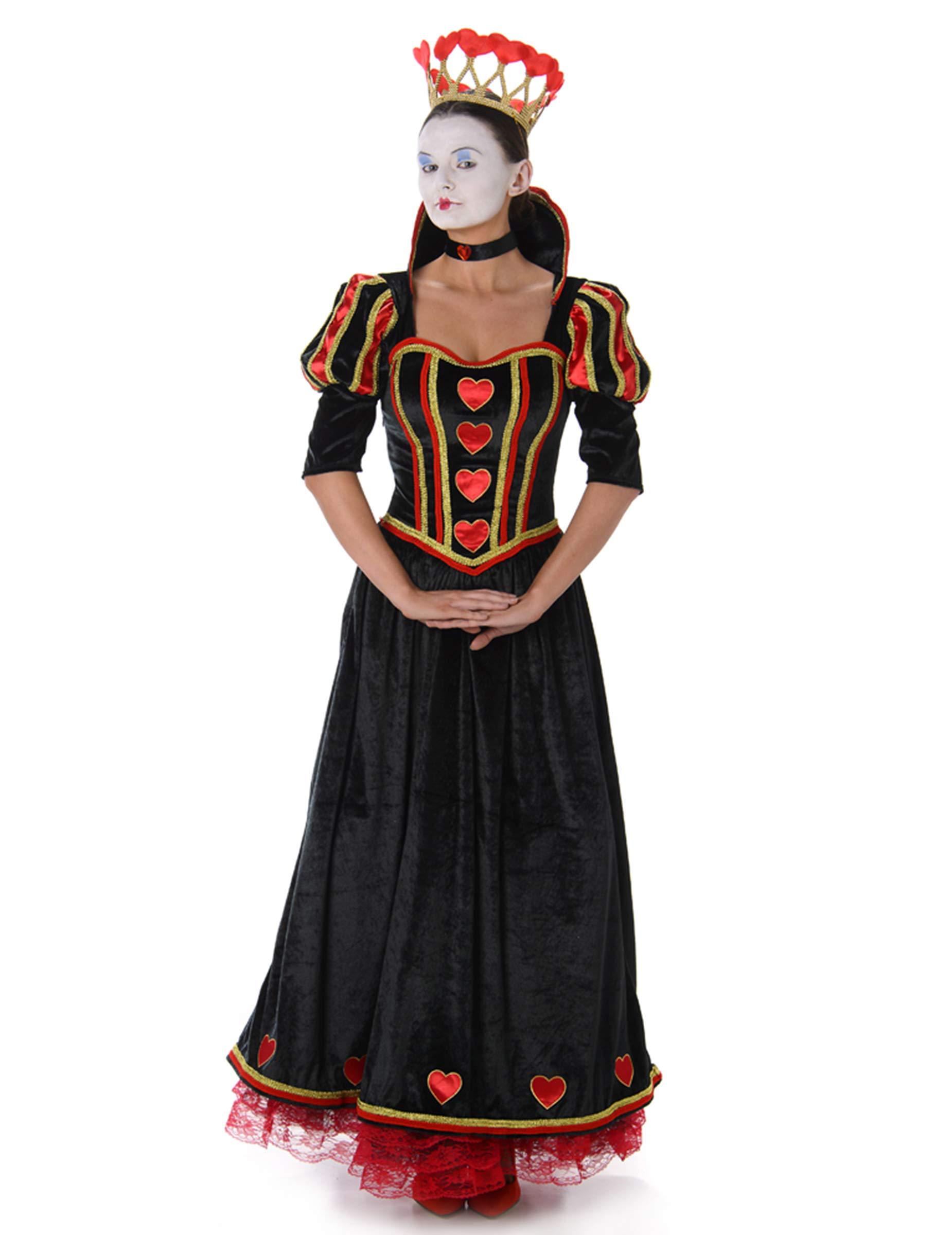 Generique Disfraz Reina de Corazones Mujer