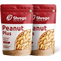SHREGO Peanut Plus Roasted Peanut Salted 400G (2x200G Vacuum Packed)
