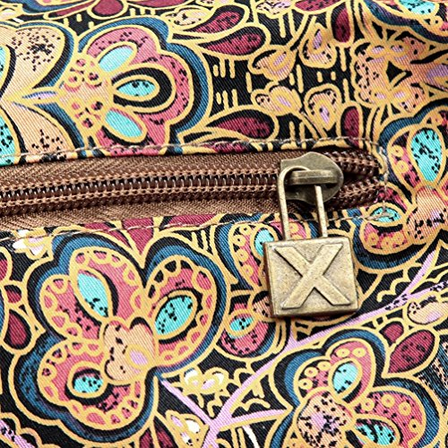 Chang Spent La signora del vento nazionale borsa sacchetto di svago sacchetto di spalla della tela di Crescent , L a