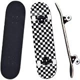 YUDOXN Completo Skateboard per Principianti, Bambini, Giovani e Adulti. skateboard adulto. 31 'x 8' skateboard 7 Strati…