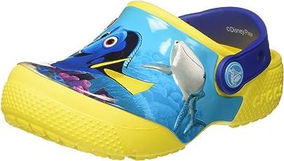 crocs FunLab Dory Boys Clog in Yellow