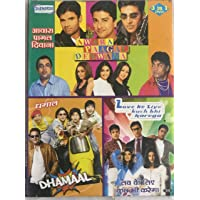 Awara Paagal Deewana / Dhamaal / Love Ke Liye Kuch Bhi Karega [3 In 1 Combo DVD]