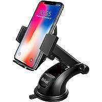 Beikell Handyhalterung Auto Handyhalter fürs Auto KFZ Handy Halterung Amaturenbrett Handyhalter mit Ein-Knopf-Release für iPhone11/ 11 Pro/Samsung Galaxy S10/ S9/ Huawei Xiaomi usw.
