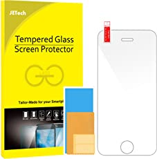 JETech 0313-SP-I5-GLASS iPhone 5/5S/5C/SE Clear screen protector 1pc(s) screen protector - Screen Protectors (Clear screen protector, Apple, iPhone 5/5S/5C/SE, Scratch resistant, Transparent, 1 pc(s))