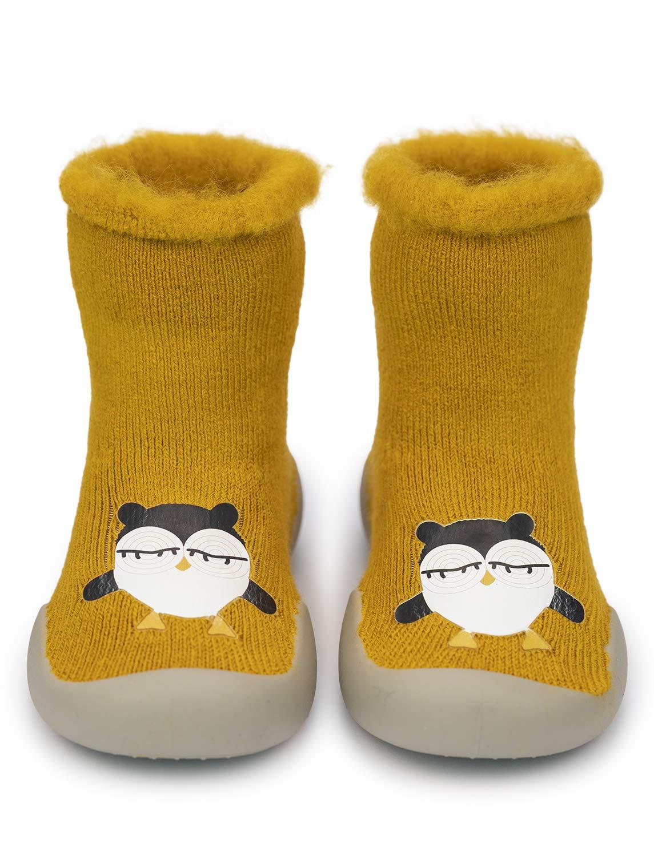 Adorel Zapatos Antideslizantes Calcetines Invierno para Bebé 1