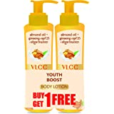 VLCC Youth Boost Body Lotion SPF 25 | PA+++, 400 ml (Buy 1 Get 1 Free)