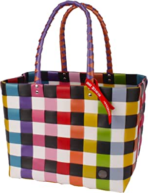 Witzgall WG5010 ICE-BAG Einkaufskorb Shopper Einkaufstasche aus Kunststoffbändern 37cmx24cmx28cm