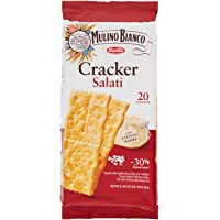 Mulino Bianco Cracker Salati con una Lievitazione Naturale, Snack Salato per la Merenda - 500 g
