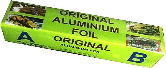 Food Grade Aluminium Foil,Aluminium foil paper for food,Aluminium foil paper - 72 m WITH CUTTER INSIDE