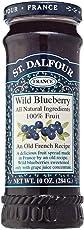 St. Dalfour France WILD Blueberry (No added Sugar), 284g
