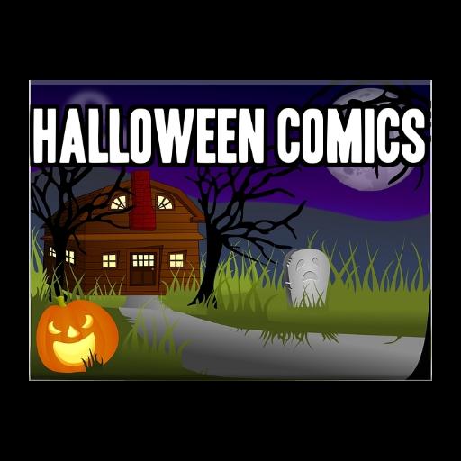ies als Video Comics: mit Hintergrundmusik für eine Halloween-Party (Scary Halloween-städte)