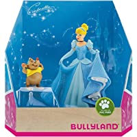 Bullyland 13438 - Jeu de Figurines, Walt Disney Cinderella - Cendrillon et Karli, Figurines peintes à la Main, sans PVC…