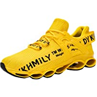 DYKHMATE Safety Trainers Men Women Steel Toe Cap Trainers Lightweight Breathable Slip Resistant Work Trainers