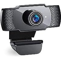 2K Webcam per PC1080p Full HD con Microfono Stereo,Videocamera Web USB per Videochiamate, Studio, Conferenza,Microfono a…
