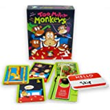 Gamewright 241 Too Many Monkeys Game, multicolour