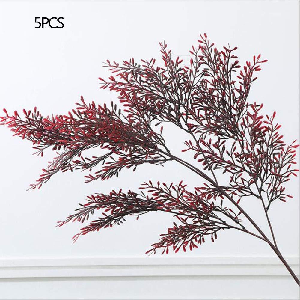 RUIZHISHU-Plantas Artificiales,Plantas Falsas,Acacia,Arreglos Florales,Adecuados para Bodas,Reuniones de Hotel de…