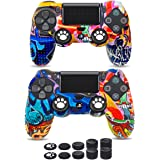 6amLifestyle Funda Protectora Antideslizante de Silicona para Mando PS4, Carcasa para Sony PS4 / PS4 Pro / PS4 Slim Controlle