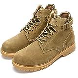 gracosy Uomo Stivaletti da Trekking Pelle più Velluto Neve Boots Invernali Delicatamente Morbido di Piatto Sneaker Outdoor Ne
