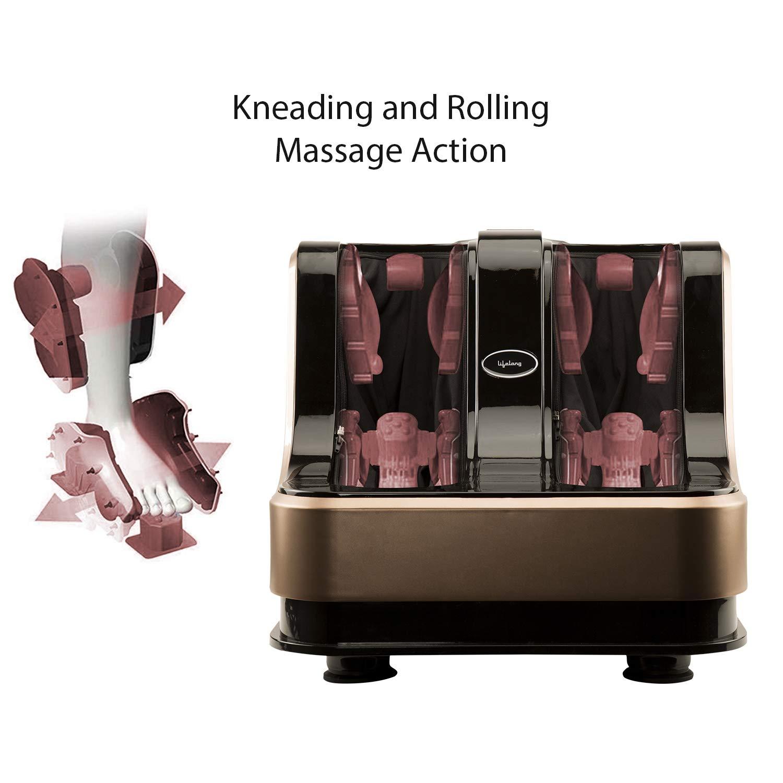 Lifelong-LLM135-Foot-Calf-and-Leg-Massager-Brown