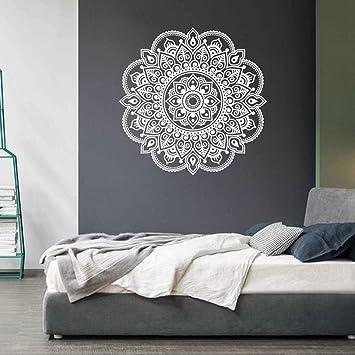 Ouneed® Wandaufkleber Wandtattoo Wandsticker , Mandala Blume Indische  Schlafzimmer Wohnzimmer Wandaufkleber Aufkleber Kunst Mural Home (Weiß):  Amazon.de: ...