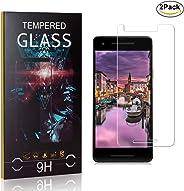 MoKiin Tempered Glass Screen Protector for Google Pixel 2, Anti Fingerprint, 9H Hardness Tempered Glass, Bubble Free Screen P